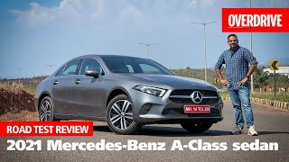 2021 Mercedes-Benz A-Class limousine review - small on size, big on value! | OVERDRIVE