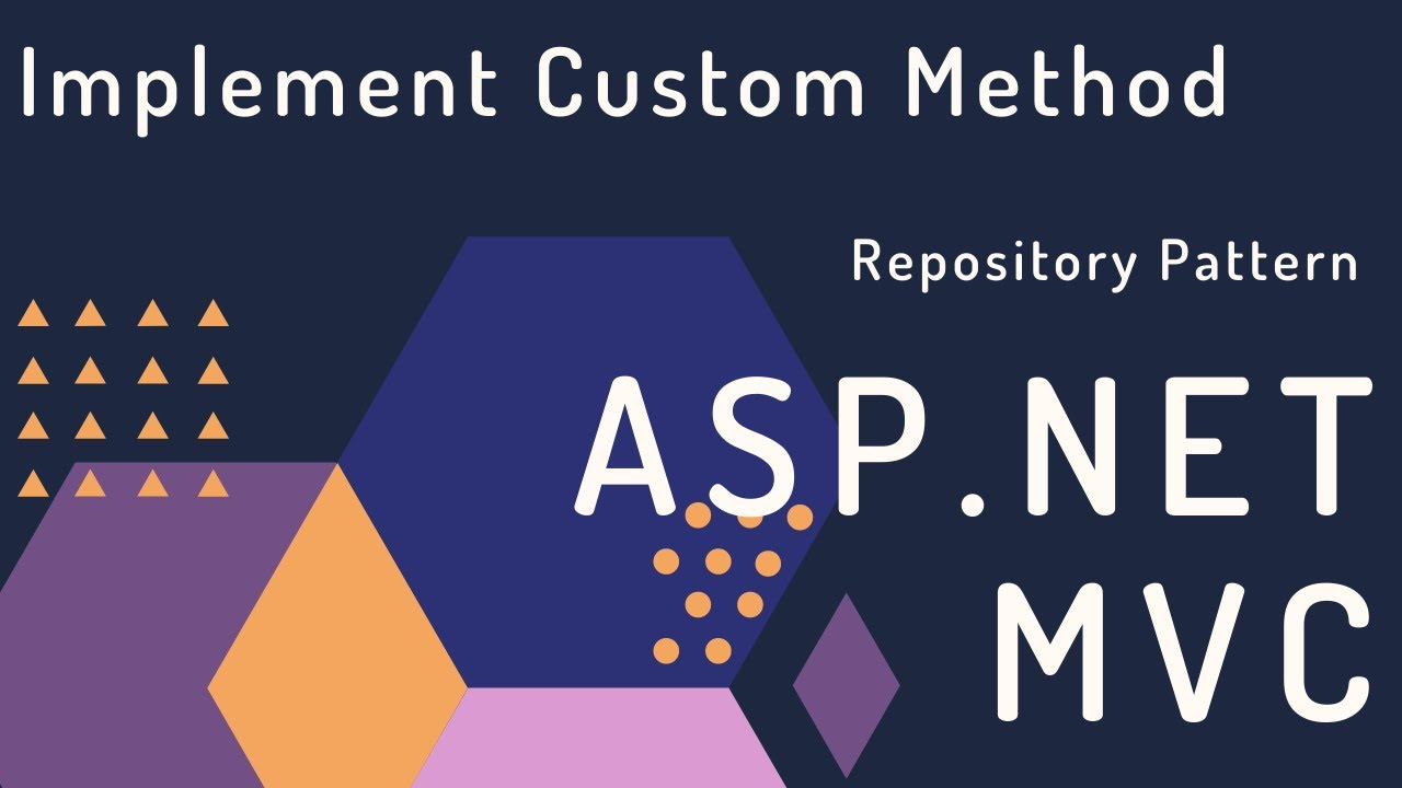 Implement Custom method in Asp.Net MVC using Entity Framework with Repository Pattern