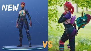 Every Fortnite Skin In Real Life #6 (Brite Bomber, Bunny Brawler, Power Chord)