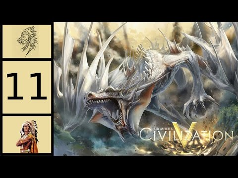 Let's Play Civ5 - Community Cooperation #11 - The Draconian Empire and the Dragon Cult
