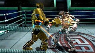 REAL STEEL WRB Gridlock VS Atom & Bluebot & Hollowjack & Danger Zone