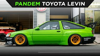 homepage tile video photo for PANDEM WIDEBODY TOYOTA LEVIN | TOYO TIRES | [4K60]