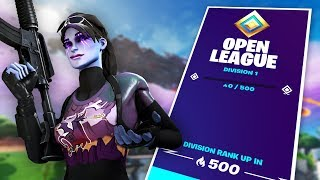FORTNITE SOLO ARENA GRINDING TO CAMPION LEAGUE // USE CODE PAM// FORTNITE LIVE STREAM