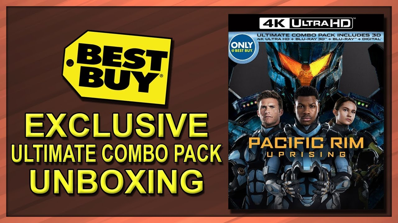 Pacific Rim Uprising Best Buy Exclusive Ultimate Combo Pack 4k