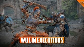 For Honor ALL NEW Wu Lin Executions - Marching Fire