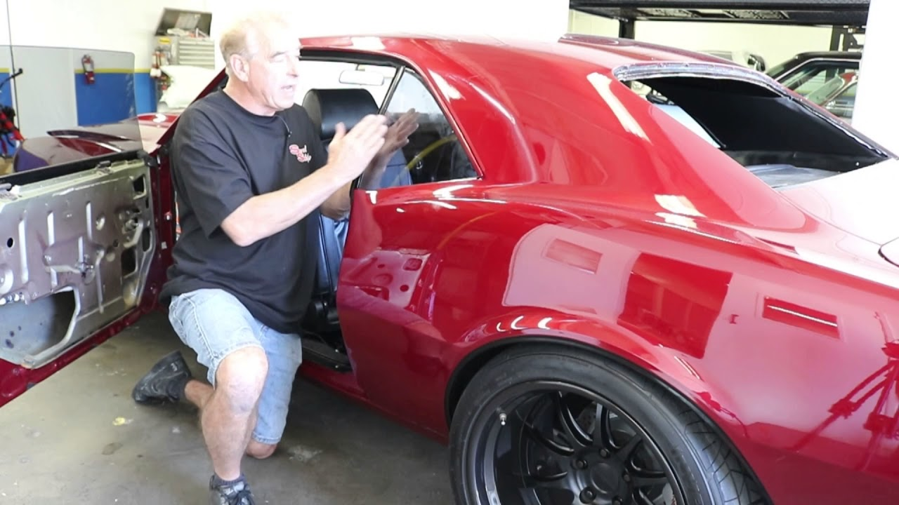 1968 69 camaro firebird how to install and adjust rear quarter glass by scared shiftless [ 1280 x 720 Pixel ]