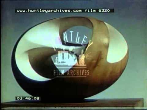 Barbara Hepworth at work - Film 6320