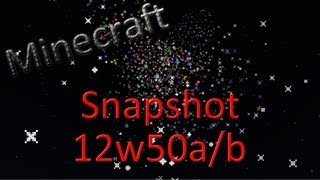 Minecraft Snapshot 12w50a/12w50b - 3D Objekte, Raketen Sound und mehr  - [HD] [German/Deutsch]