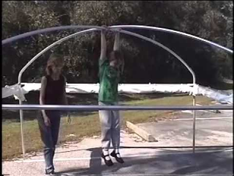 Light-Dome & Finale Canopy Setup - YouTube