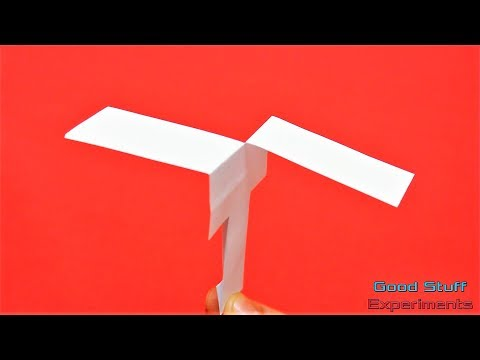 How to Make a Simple Paper Helicopter that Flies