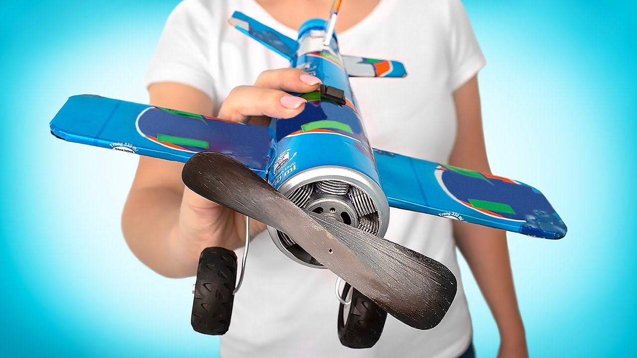How To Make Fantastic Airplane Fan
