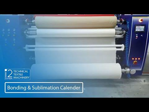bonding and sublimation calander
