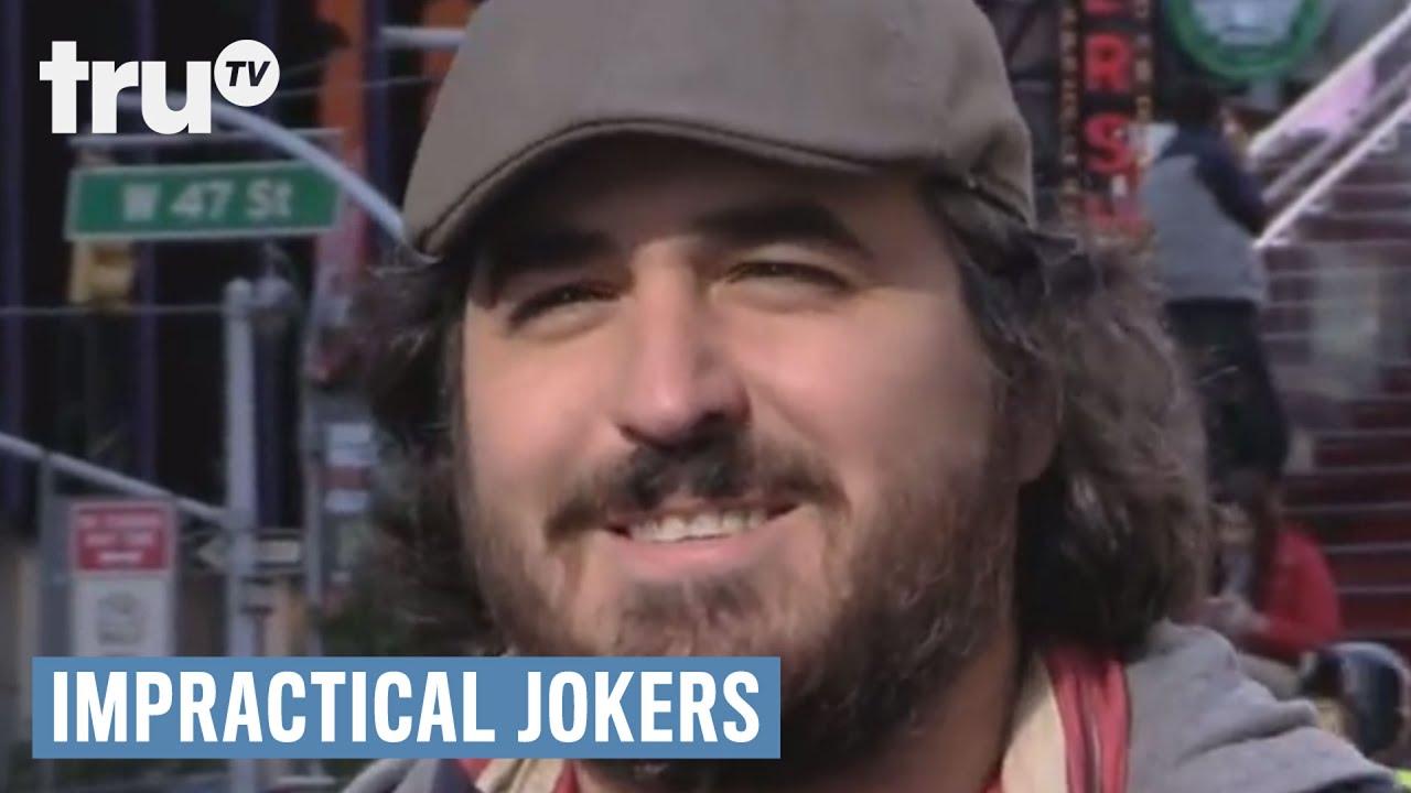 Q impractical jokers illness