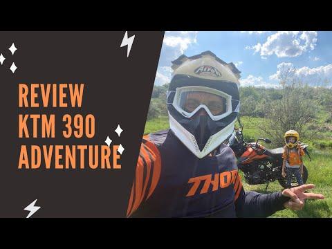 Review KTM 390 Adventure 2020 in Romana - O motocicleta entry level de aventura pe care te bazezi