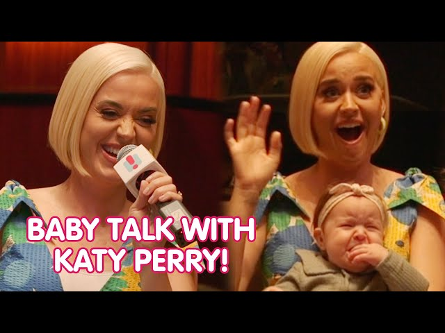 Katy Perry Talks All Things BABY! | Fifi, Fev & Byron