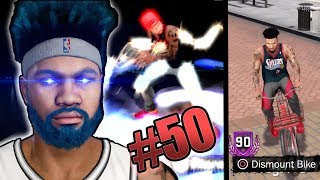 DEADLY 90 OVR SHOTMAKER! My New Bike! Exclusive Jewelry! Trolls Getting Mad! NBA 2k18 MyCAREER Ep 50