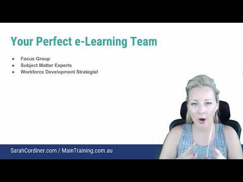 e-Learning Teams: The Critical Roles in an Organisational e-Learning Department