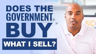 Does the government buy what I sell? Learn who are your customers & competitors!