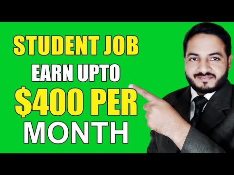 Student Online Job Without any investment | Part Time jobs f