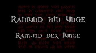 TÝR - Ramund hin Unge (Text und Übersetzung)