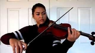 One Direction I Want To Write You A Song VIOLIN Cover