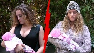 Rich Mom VS  Homeless Mom Experiment!