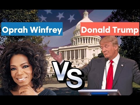 Oprah Winfrey vs Donald Trump   2020 Election Prediction