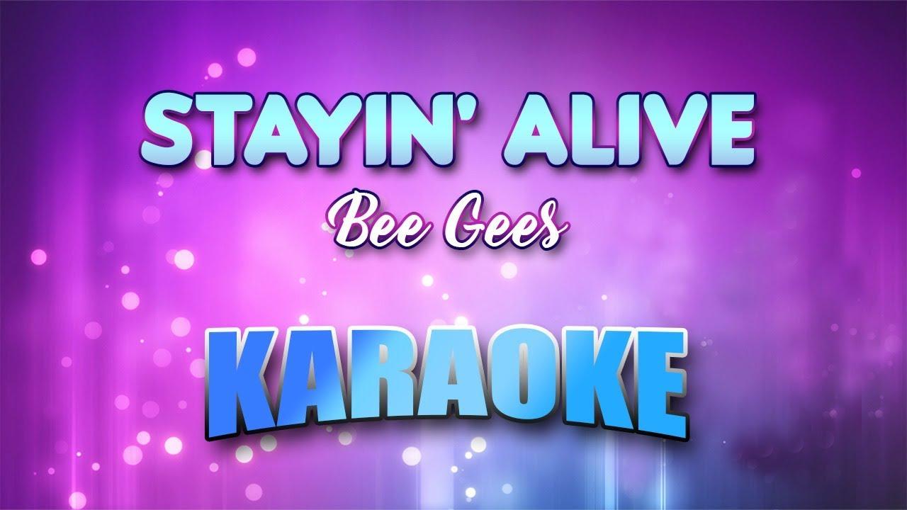 Stayin Alive Youtube Lyrics