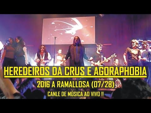 🎸🔥  Heredeiros Da Crus - 07/28 Buscando A Superfama Con Agoraphobia - Ramallosa
