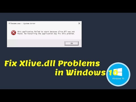 How to FIX: xlive.dll is missing Error in RESIDENT EVIL 5 (Windows 10/8/7)