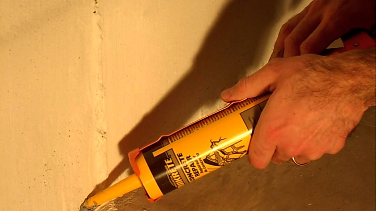 How to seal a gap between walls