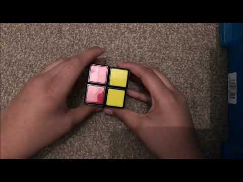How To Solve Rubik's Cube 2X2 Yahya Khan