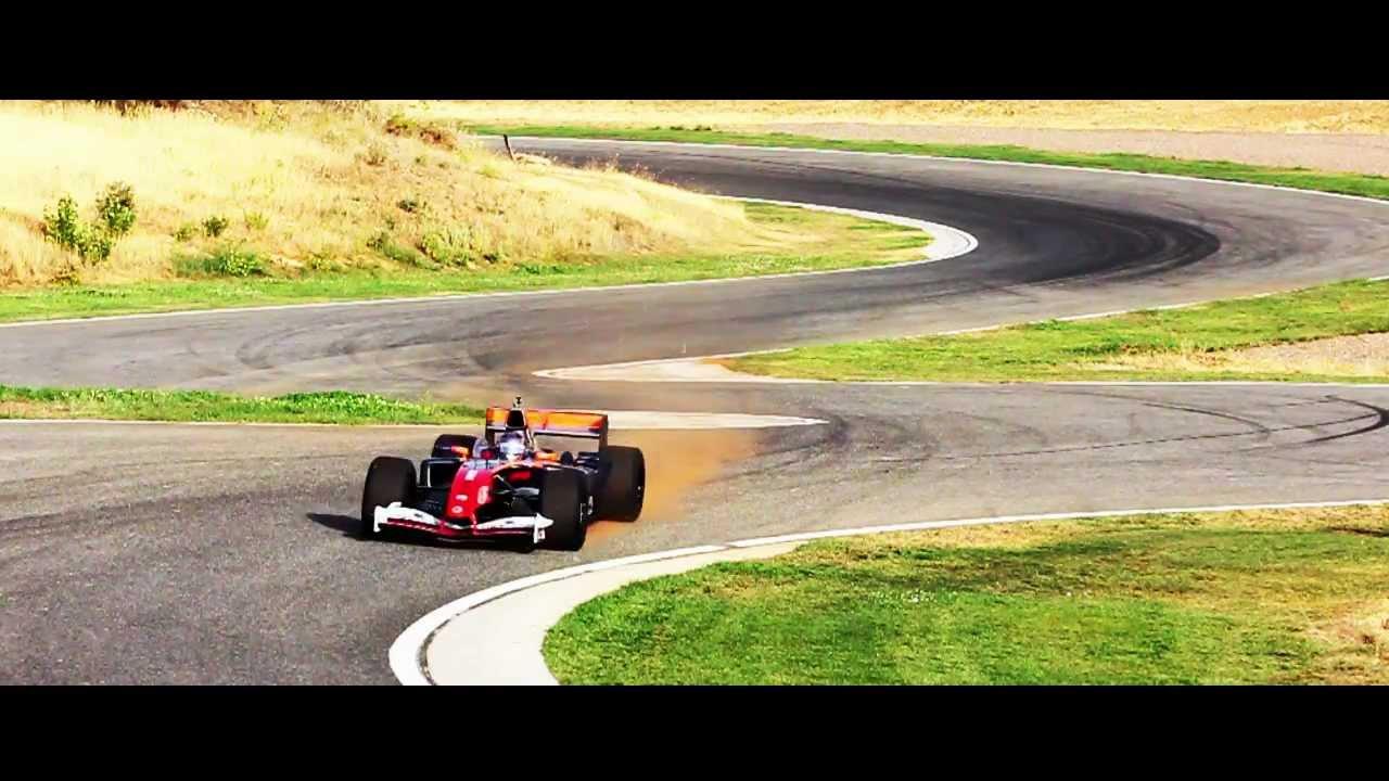 Circuito Ascari : Jaguar r5 f1 v10 en el circuito de ascari youtube