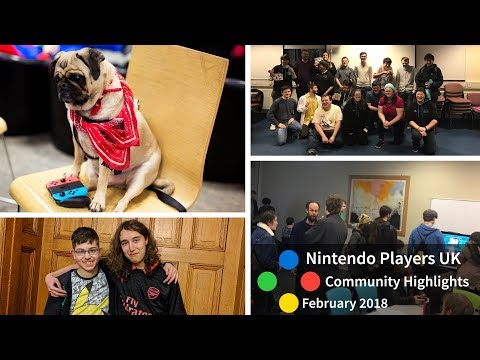Nintendo Players UK Community Highlights - February 2018