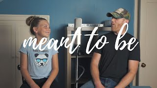 Meant To Be Bebe Rexha Florida Georgia Line (Cover) Derek Cate and Daughter Hailey Video