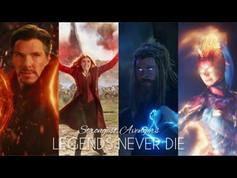 Strongest Avengers   Legends Never Die