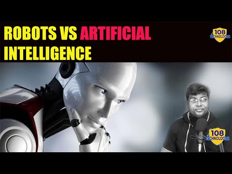 Artificial intelligence | Robots vs Artificial Intelligence | can robots replace humans in future