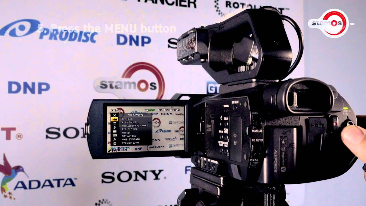 how to set manually the white balance on the sony pxw x70 youtube rh youtube com Best White Balance Manual White Balance Card