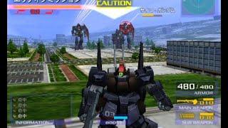 PS2 機動戦士ガンダム ガンダムvs.Zガンダムのプレイ動画です。 エゥティタのミッションにグリーンノア1内部でサイコガンダム軍団を黒ディアスBZ...