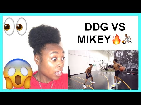 DDG VS 16 YEAR OLD MIKEY WILLIAMS 1v1 (INTENSE) REACTION