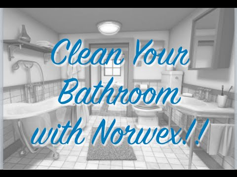 Deep Clean Your Bathroom With Norwex Youtube