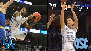 UNC vs. Kentucky Elite 8 Preview: Familiar Foes Play for Final Four Berth