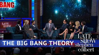 Stephen asks the cast of 'The Big Bang Theory' questions that they ...