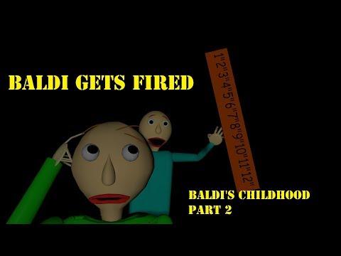 [SFM Baldi] Baldi gets Fired (Baldi's Childhood Part 2) (SFM ANIMATED VERSION)