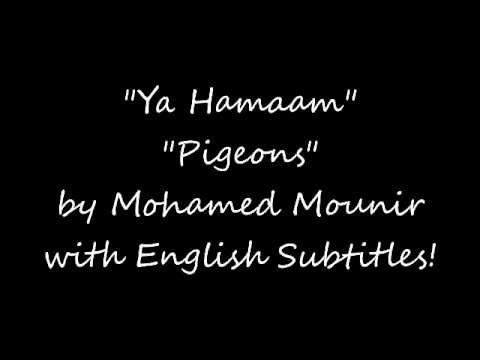 Ya Hamam - Pigeons by Mohamed Mounir with English Subtitles