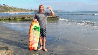 Can I even SURF this BOARD!?