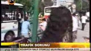 Adana'da trafik kavgası! Aman ne güzel! Ekşın Ekşın!