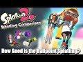 Splatoon 2 - How Good is the Ballpoint Splatling? (Splatling Comparison)