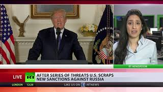 Another time: US scraps new sanctions against Russia after series of threats