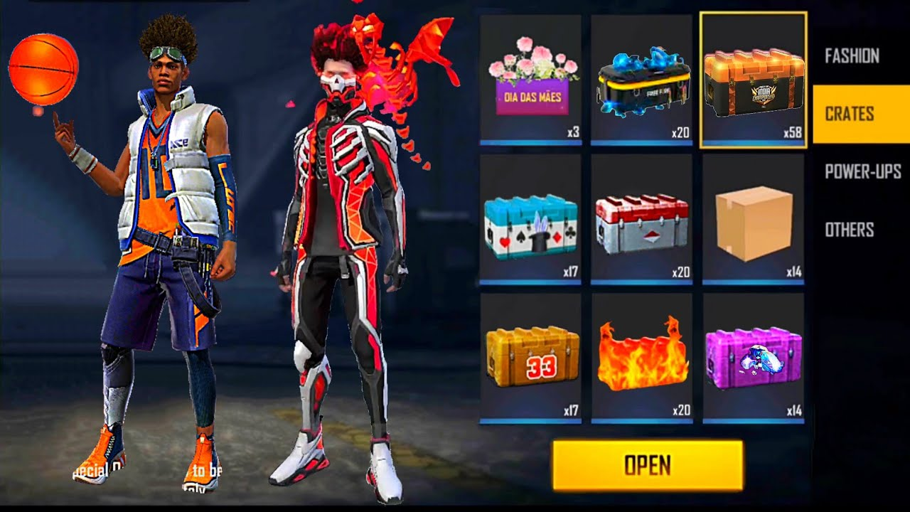 Download OPEN ALL BOXES 📦 DIAMONDS 💎 NEW BUNDLES 😱 EMOTES 😎 CHARACTERS 🔥 FREE FIRE